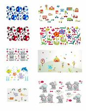 Wall Stickers - Removable & Restickable - Splash Proof - Washable - Reusable BN