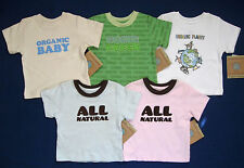 NWT Organic Cotton UNDER CANOPY Baby Toddler T-shirt Top Tee Choose Color 18 mo