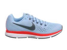 NEW WOMENS NIKE AIR ZOOM PEGASUS 34 RUNNING SHOES TRAINERS ICE BLUE / BLUE FOX