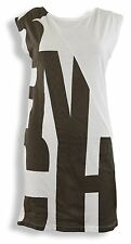 Great Bench Shirt Big Smoke, Dress, white with grey Print, NEW