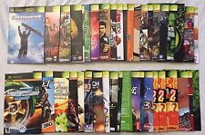 Original Microsoft XBOX MANUAL ONLY Lot (Pick 1 or more!) in Good Condition!
