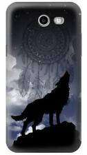 Dream Catcher Wolf Howling Printed Case for Samsung Galaxy J3 J5 J7 Phone