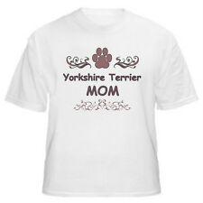 Yorkshire Terrier Mom Paw Dog Lover T-Shirt - Sizes Small through 5XL