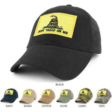 Dont Tread on Me, Gadsden Snake Embroidered Tactical Patch Operator Cap