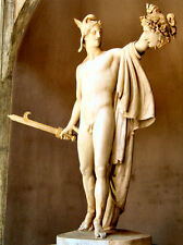 Classic art print from Greek Mythology - Perseus with Head of Medusa