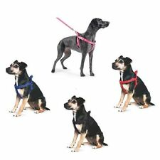 Ancol Nylon Padded Dog Harness Reflective Stitching Dog Puppy Pulling All Sizes
