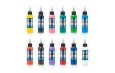 FUSION Sample Set 12 Colors Tattoo Ink of Popular 1 oz 30 ml Authentic 2017