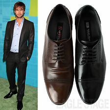 MENS 'Reberto' Lace-Up Brogue Oxford Leather Classic Formal Dress Shoes