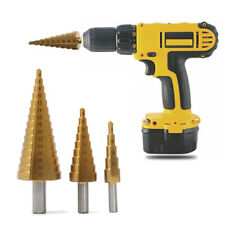 Metric Step Drill Bit MM Cone Drill Bits Cone Drill Bit Hole Cutter 11 Sizes