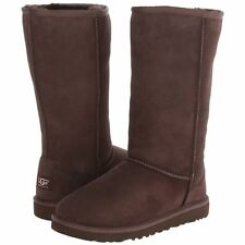 UGG Kid's Classic Tall Boot Black Chocolate Size 1 [5229]