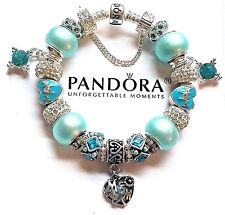 New AUTHENTIC PANDORA BRACELET with Mothers Day Mom European Charms & Beads M3