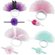 Newborn Baby Girl Kids Flower Tutu Skirt Costume Photography Photo Prop Outfits