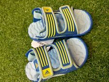 AdIdas Akwah 8 boys infant  velcro strapped Sandals j6 or j9 blue