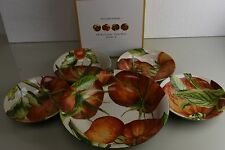 New Williams Sonoma Heirloom Tomatoes SERVING BOWL or 4 Pasta Soup Bowls SET