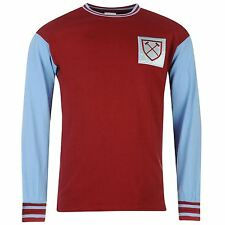 West Ham United 1966 Home Shirt Kit Bobby Moore Official 66 Retro Vintage XL