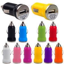 New Universal 12V Mini Auto Car Charger USB Adapter Socket For iPhone Cell Phone