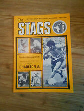 Mansfield Town Programmes