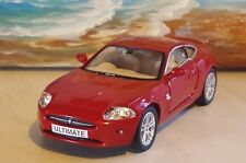 JAGUAR XK COUPE -MAROON RED 1.36 MODEL CAR PERSONALISED GIFT BOYS TOYS christmas