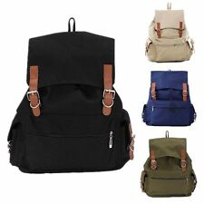 New Fashion Unisex Vintage Men Women Canvas Backpack Rucksack Satchel School Bag