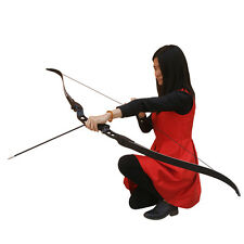 Archery Recurve Bow 20-32 LBS Takedown Bow Hunting Targeting 64'' Bow Sight