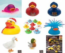 Duck Baby Bathtime Bathing Toys Rubber Race Squeaky Plush Toy (Buy 3 Get 1 Free)
