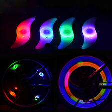 4 pcs Colourful Bike Bicycle Cycling Wheel Spoke Tire Wire Tyre LED Lights Lamp