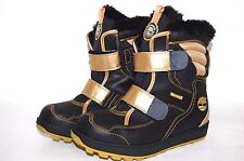 Timberland Junior Snow Stomper XT Black / Gold 33999 Big Kids youth Shoes
