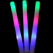 New Light Up Foam Sticks LED Wands Rally Rave Batons DJ Flashing Glow Stick KF