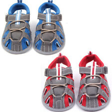 Toddler Baby Boys Prewalker Shoes Sneakers Sandals Summer Soft Sole Crib Shoes