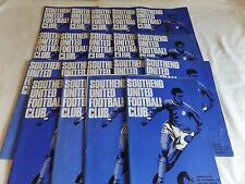 SOUTHEND UNITED 1968/1969 HOME PROGRAMMES