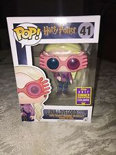 Funko Pop! Luna Lovegood with glasses SDCC shared exclusive IN HAND SOLD OUT
