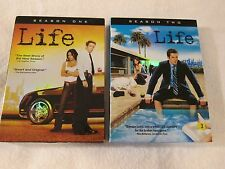 LIFE COMPLETE SERIES SEASON 1-2 DVD Like New Condition, Damien Lewis