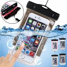 Waterproof Case Dry Bag Cell Phone Pouch Lanyard Strap NEW For Water Sports
