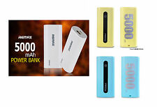 5000mAh REMAX® Universal External Battery USB Power Bank Charger with USB Cable
