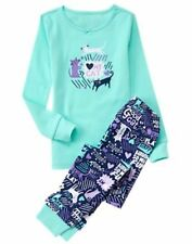 NWT Gymboree Gymmies Girls I love My cat Pajamas PJs 18-24M, 2T,3,5,6,7