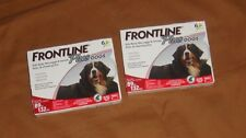 Frontline plus for dogs 89 to 132 lbs. 12 month flea tick 6 each SET OF 2