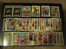 Lot of (37) 1988 Topps Garbage Pail Kids 15th Series 15 Cards Die-Cut *Read*