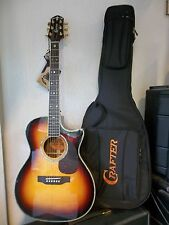Crafter TC 035TS electro-acoustic guitar & gigbag brand new waranteed