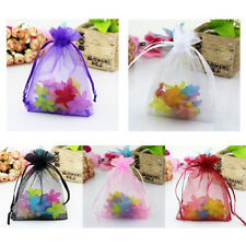50Pcs Organza Gift Bags 10x15cm Wedding Party Jewelry Candy Gift Favor Pouches