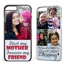 Personalised Phone Case Cover Your Photo & Text Printed Samsung/Apple