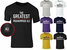 Men's New The Greatest Muhammad Ali Boxing Training Legend T Shirt Tee Top S-XXL