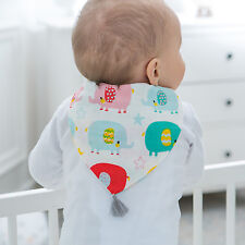 Baby Infant Cute Sweat Absorb Muslin Towel Back Perspiration Wipes Absorb Dry