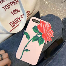 3D Rose Flower I'm Very Busy Soft Silicone Case Cover for iPhone 6S 7 Plus Frank