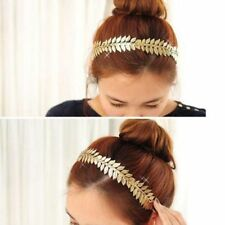 Garland Chic Grecian Olive Gold Hair Leaves Branch Leaf Headband Crown Band