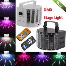Sound Active Laser Projector DMX512 LED RGBWY Strobe Stage Light DJ Party KTV OY