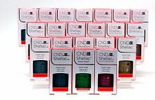 CND Creative Nail Shellac Gel Polish Colors of Your Choice .25oz/7.3ml New Color