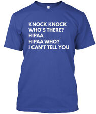 Knock, Knock. Whos There - Knock Who's There? Hippa Hanes Tagless Tee T-Shirt