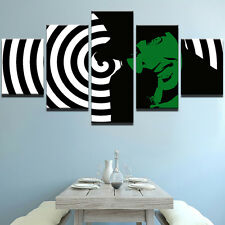 5 Panel Marilyn Manson Painting Abstract Print Canvas Wall Art Poster Home Decor