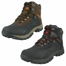 MENS MERRELL ICECLAW MID WATERPROOF LACE UP LEATHER WALKING HIKING ANKLE BOOTS