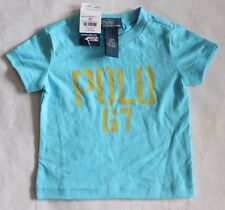 Polo Ralph Lauren Baby Boy's Short Sleeve Classic Crew Neck Shirt 12 Month